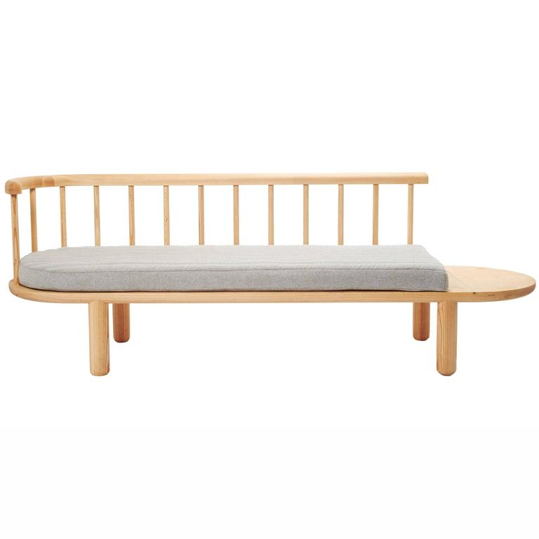 White Oak Spindle Bench For Sale At 1stdibs