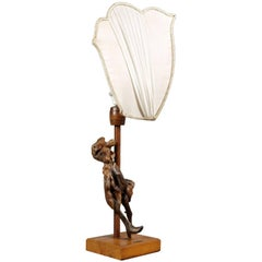 Lauro Malusi Table Lamp and Sculpture Olive Tree