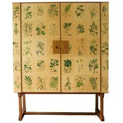 "1950s Josef Frank ""Norden"" Flora Cabinet"
