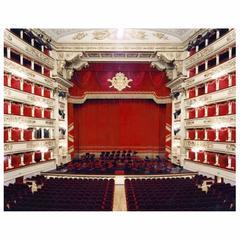 """Candida Hofer """"Teatro Alla Scala Miliano v"""" Photograph 2005"""