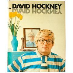"""""""David Hockney"""" Book by David Hockney, First Edition"""