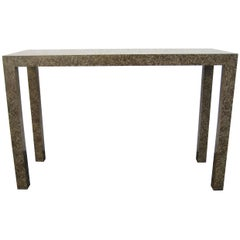 1970s Parsons Table, Console or Desk