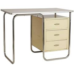 Petite Streamline Desk by Walter Dorwin Teague for Texaco, circa 1940