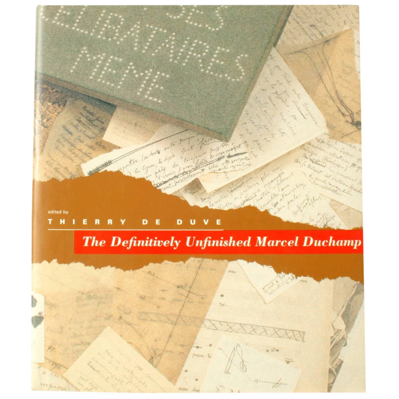Definitively Unfinished Marcel Duchamp, Pre Publication Review Edition