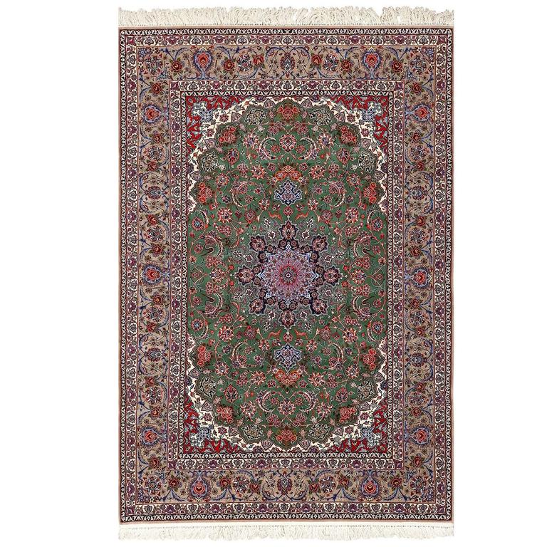 Vintage Isfahan Persian Rug For Sale At 1stdibs