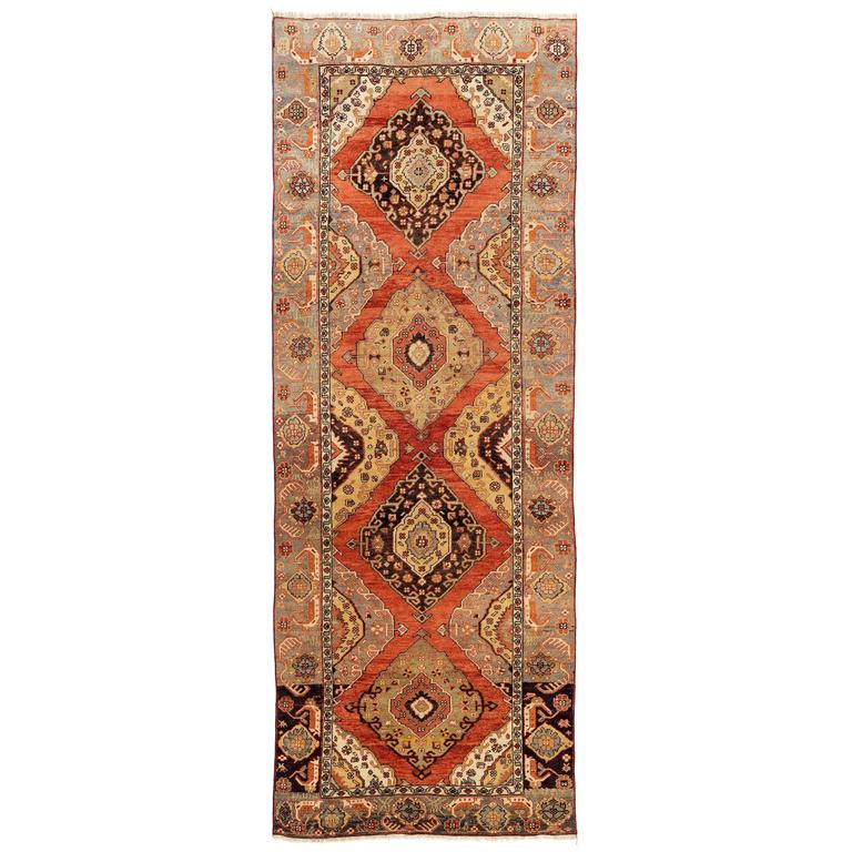 Fantastic Vintage Turkish Oushak Runner