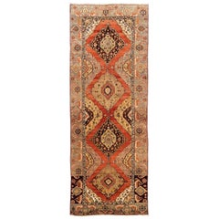 Antique Turkish Oushak Runner