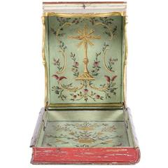 18th Century Italian Bible Display and Protective Case, circa 1780