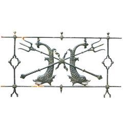 Late 19th Century Cast Iron Balustrade/Railings