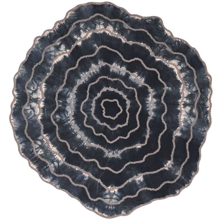 Rainbow Shell Round Rug By Michaela Schluypen For Floor To