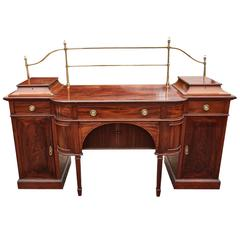 Excellent Large Antique Mahogany Sideboard