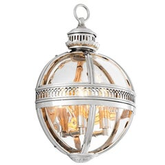 Castle Planet Wall Lamp in Nickel or Antique Brass or Bronze Finish