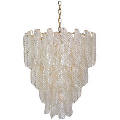 Large Mazzega Chandelier, Italy, 1970s