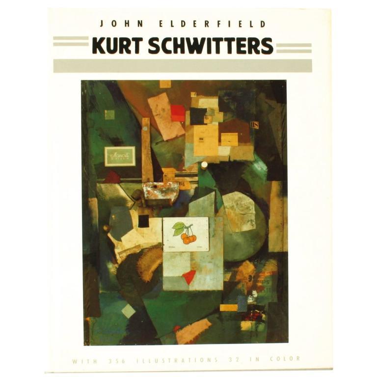 """Kurt Schwitters"" Book by John Elderfield, First Edition"