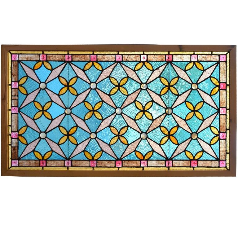 American Stained Glass Window For Sale At 1stdibs