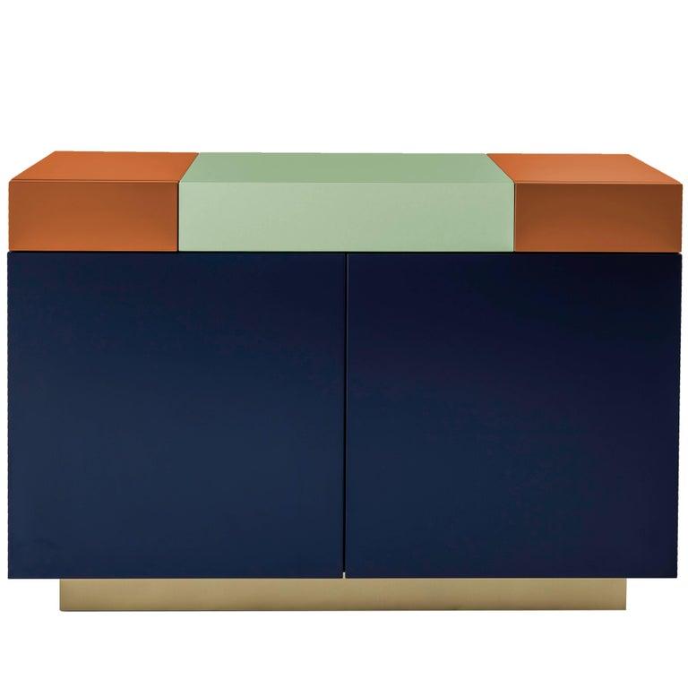 Greta Cabinet by Leonardo Di Caprio for Aucap For Sale