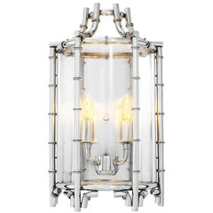 Islands Wall Light in Polished Stainless Steel
