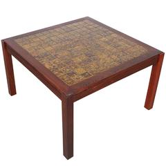 Rosewood Square End Table or Coffee Table