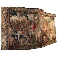 Jan Frans Van den Hecke 17th Century Alexander's Brussels Tapestry