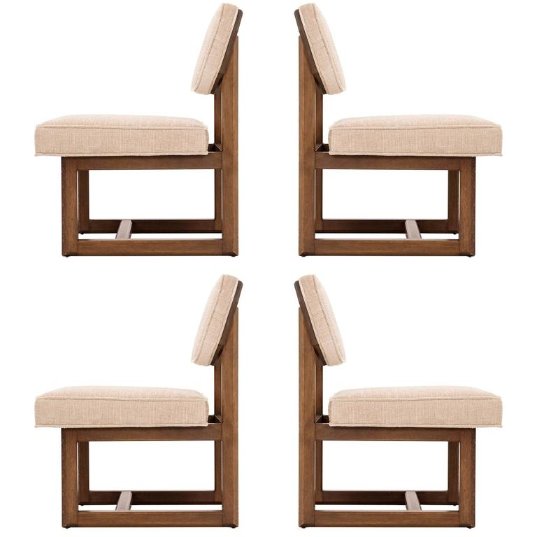 Merveilleux Set Of Four Frank Lloyd Wright Chairs For Sale