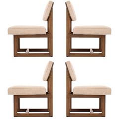 Set of Four Frank Lloyd Wright Chairs