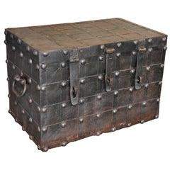 18th Century Spanish Strong Box, Coffer