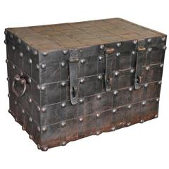 18th Century Spanish Strong Box, Coffer
