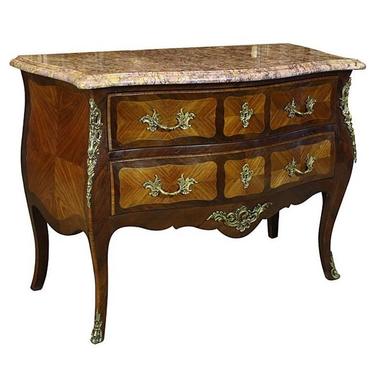 French Louis XV Style Commode For Sale