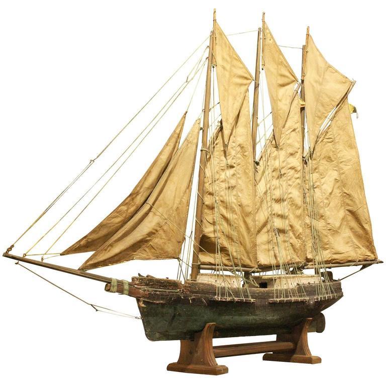 19th Century American Ship Model