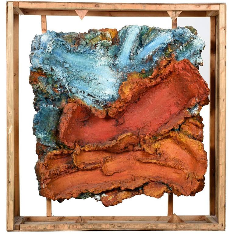 Contemporary Abstract Relief Sculture Art Pieces by Gary Amerigian