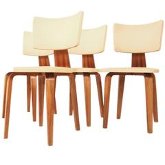 Set of Four Dining Chairs by Cor Alons for Den Boer, 1950s