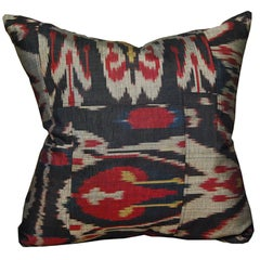 Artisan Pillow with Vintage Ikat