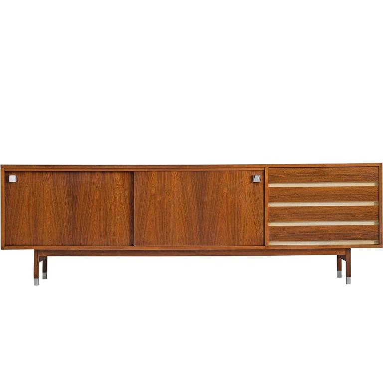 Large Alfred Hendrickx Credenza in Rosewood, 1960s