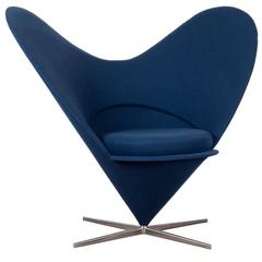 Verner Panton Cone Heart Chair By Vitra, Germany
