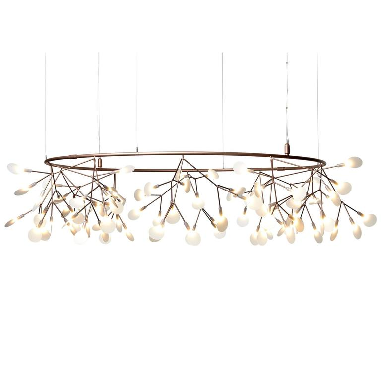 Moooi Small Big  O  Suspension Fixture by Bertjan Pot in Copper or Nickel Finish  sc 1 st  1stDibs & Moooi Heracleum II Suspension Led Light Fixture in Copper or Nickel ...
