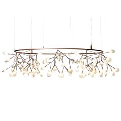 "Moooi Small Big ""O"" Suspension Fixture by Bertjan Pot in Copper or Nickel Finish"