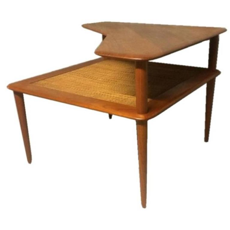 Danish Solid Teak Coffee Table, Hvidt & Mølgaard-Nielsen for France & Søn, 1960s 1