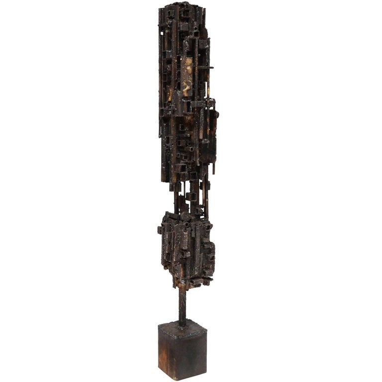 """James Bearden """"Dwelling"""" Abstract Sculpture For Sale"""