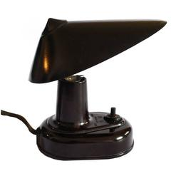 Miniature Streamline Art Deco Bakelite Lamp