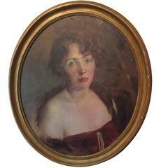 Early 20th Century Portrait of Woman
