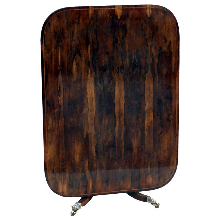 Antique Regency Period Rosewood Breakfast Table For Sale
