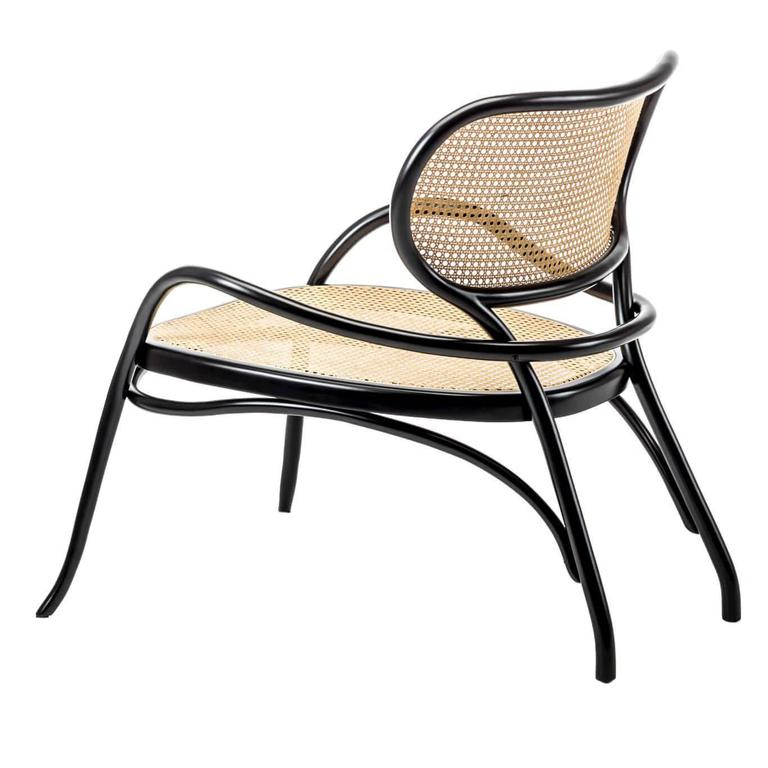 Lehnstuhl lounge chair comtemporary bentwood lounge chair for Chaise bentwood