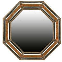 19th Century Spanish Octagonal Mirror