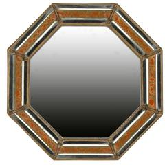 19th Century Spanish Octagonal Mirror