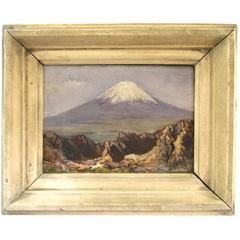 Mt. Fuji Painting by K. Ichiro