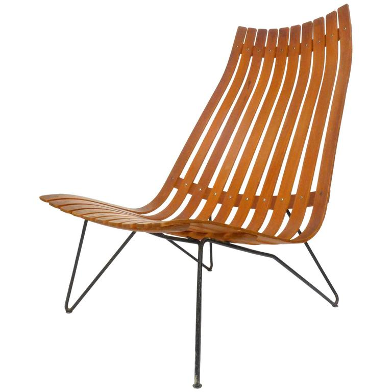 Scania Senior Lounge Chair by Hans Brattrud for Hove Möbler For Sale