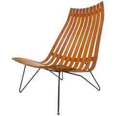 Scania Senior Lounge Chair by Hans Brattrud for Hove Möbler