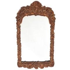 19th Century Gilt Gesso Framed Wall Mirror
