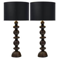 Italian Murano Glass Lamps