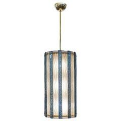 Murano Glass Teal Italian Lantern